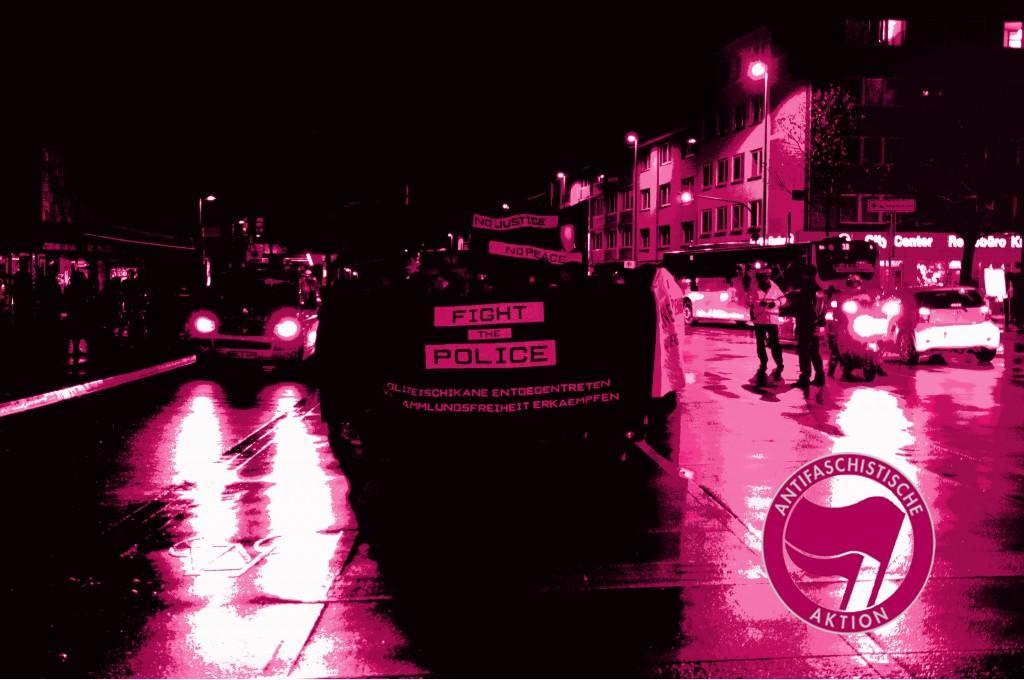 Polizeischikane entgegentreten! - Versammlungsfreiheit erkämpfen!